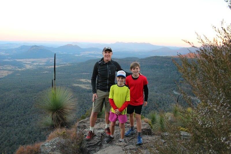 Mt Cordeaux Lookout, Main Range National Park