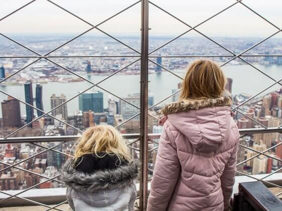 Empire State Building - one of the best things to do in NYC with kids