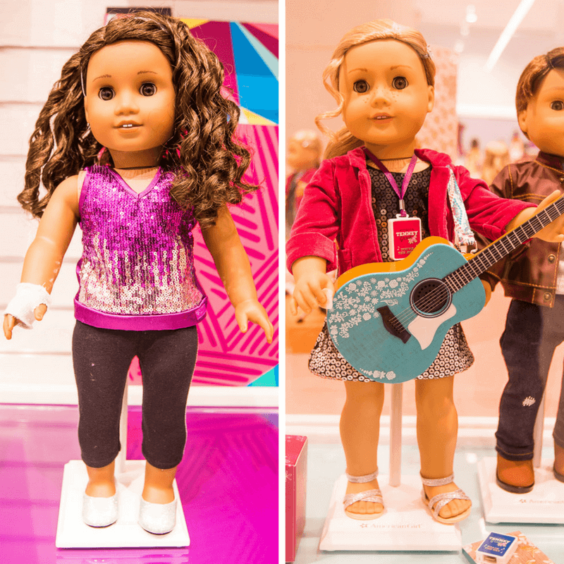 American Girl Doll Store - one of the best things to do in NYC with kids