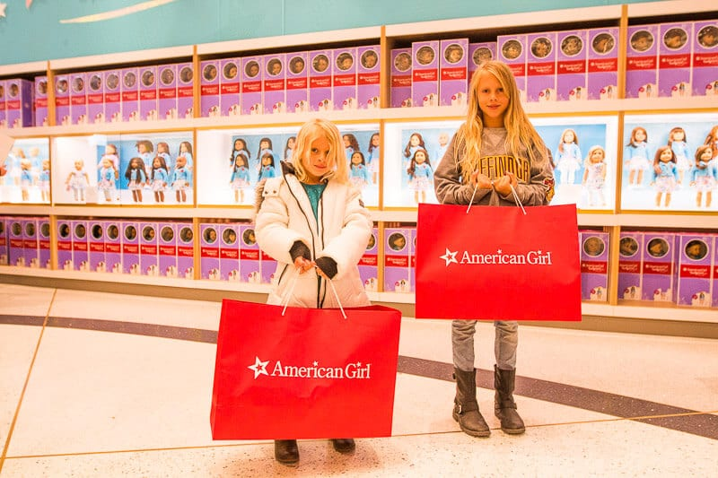 ae1424c71ed American Girl Doll Store - one of the best things to do in NYC with kids