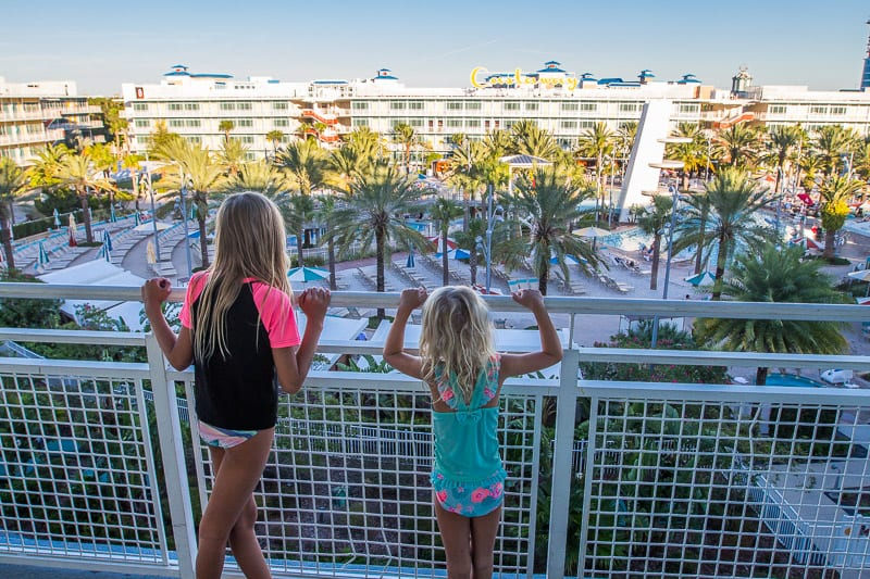 Cabana Bay Beach Resort in Orlando, Florida
