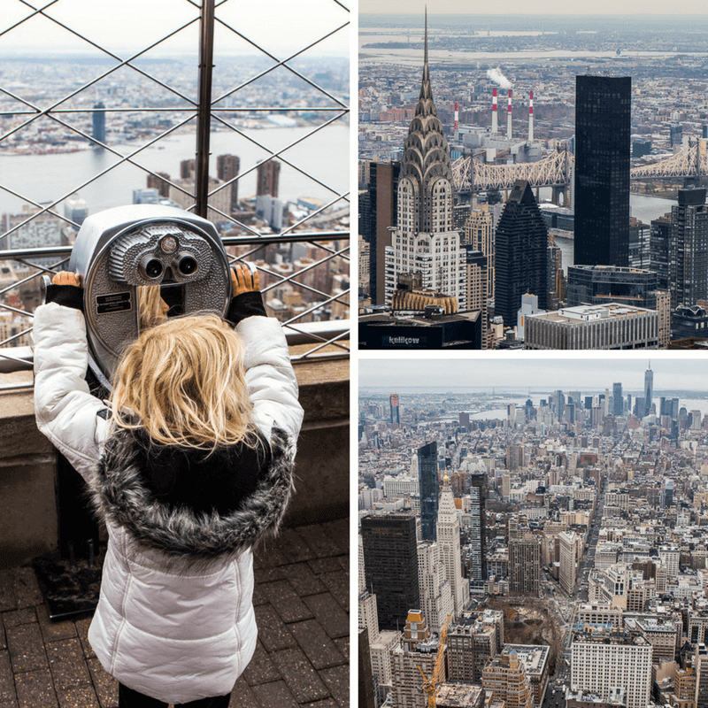 Empire State Building - things to do in NYC with kids