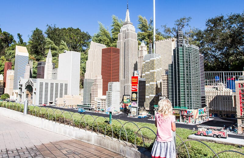 Miniland USA at Legoland Florida