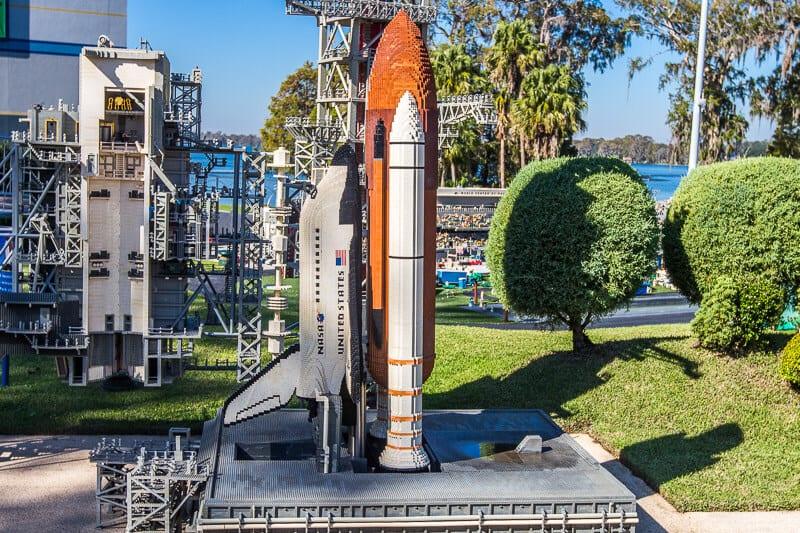 Kennedy Space Center - Legoland Florida