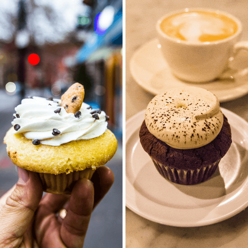 Molly's Cupcakes in NYC - one of the best things to do in NYC with kids