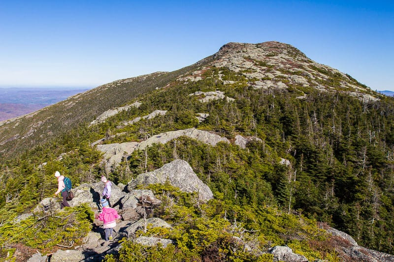 Mount Mansfield Hike in Stowe, Vermont