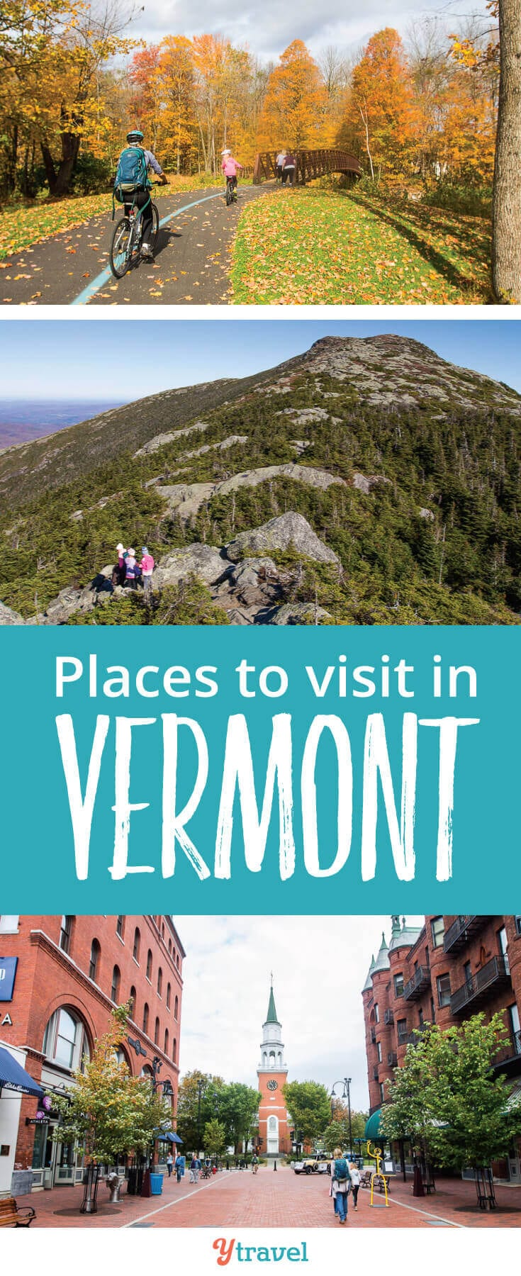 Places to Visit in Vermont, New England. Planning a trip to Vermont? Put these 6 places on your itinerary.