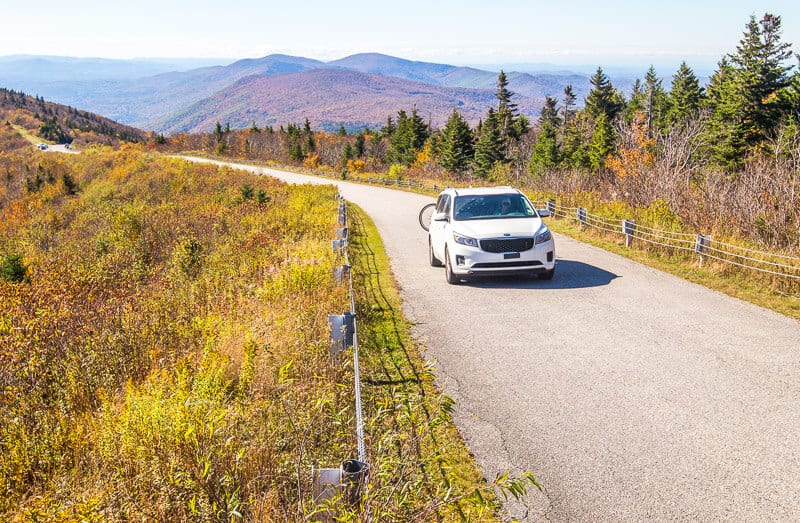 Skyline drive in Manchester VT