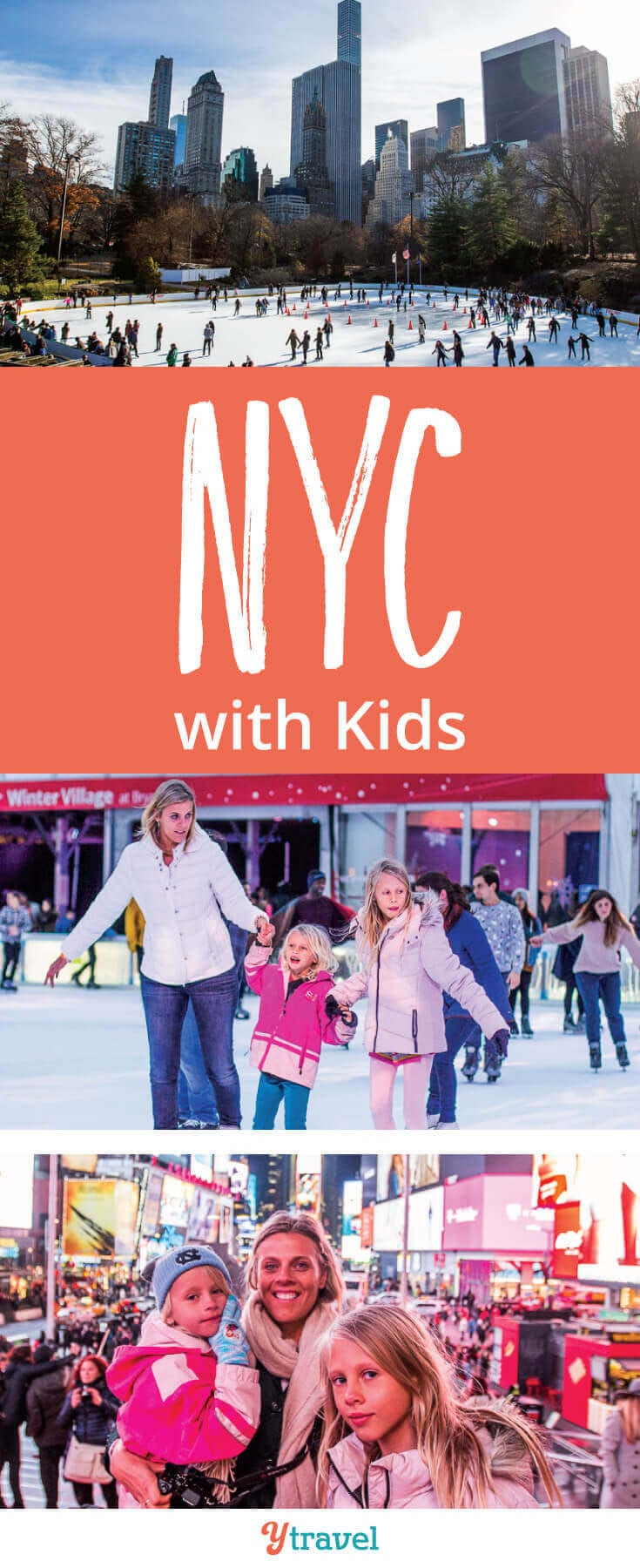 Things to do in NYC with kids - Planning a family trip to New York City? Check out these 15 activities you and your kids will love!