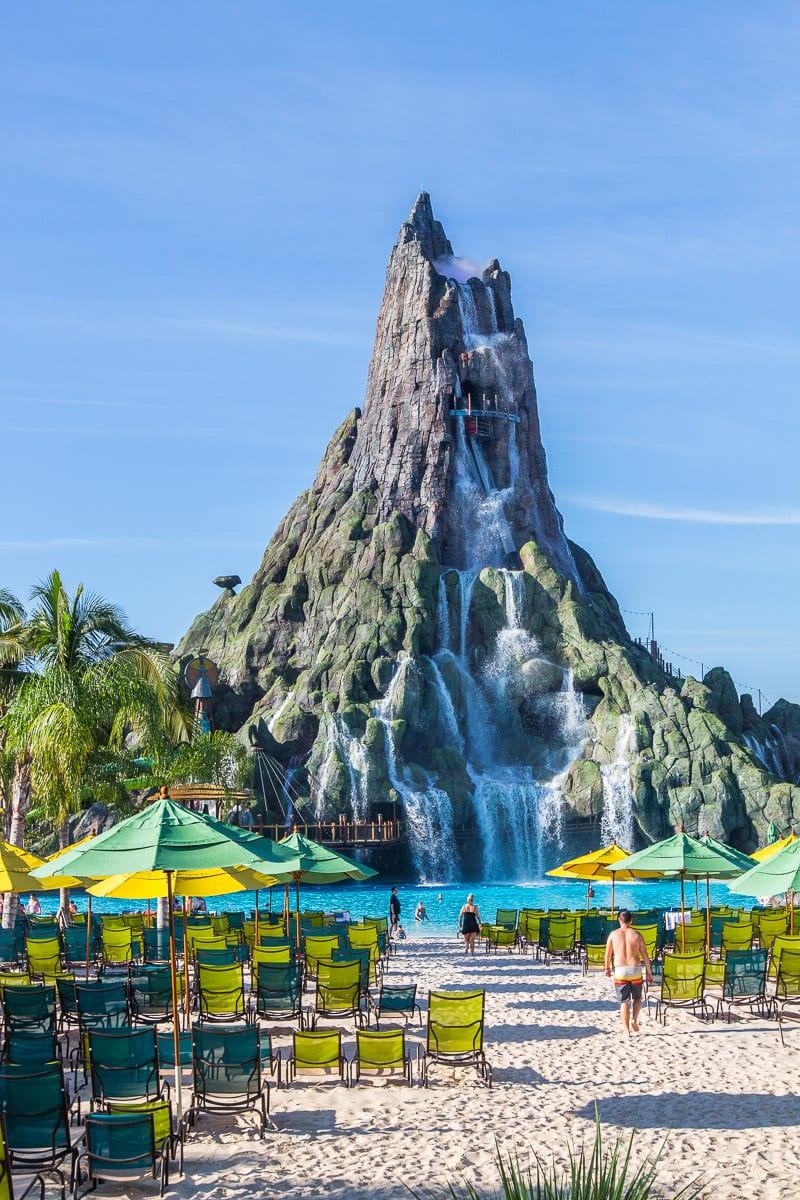 Universal's Volcano Bay Water Park in Orlando, Florida