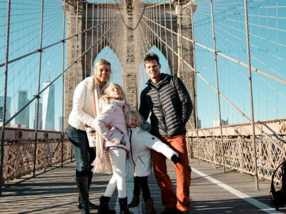 Walk the Brooklyn Bridge - one of the best things to do in NYC with kids