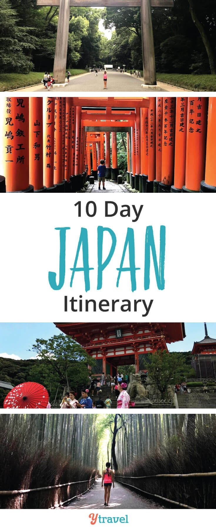 10 days in Japan itinerary. If you are planning a trip to Japan, this list of places to visit in Japan is perfect for first time visitors who want to see the highlights of Tokyo and Kyoto, taste the food, see the landscapes, the temples, experience the culture, and much more!