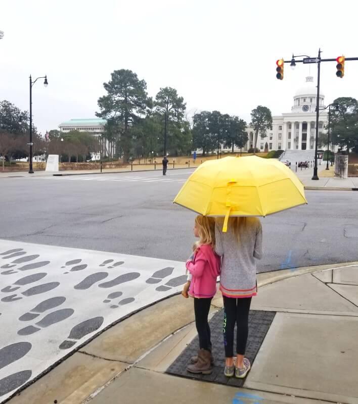 Civil Rights Walk from Selma to Montgomery al