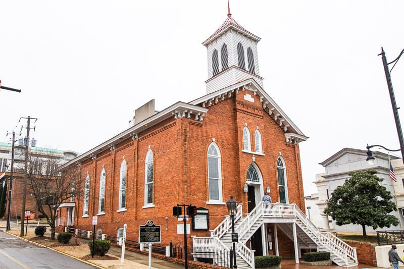 Dexter Avenue Baptist Church Civil Rights Trail Montgomery AL
