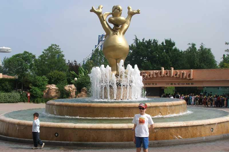 Gardaland Theme Park, Italy