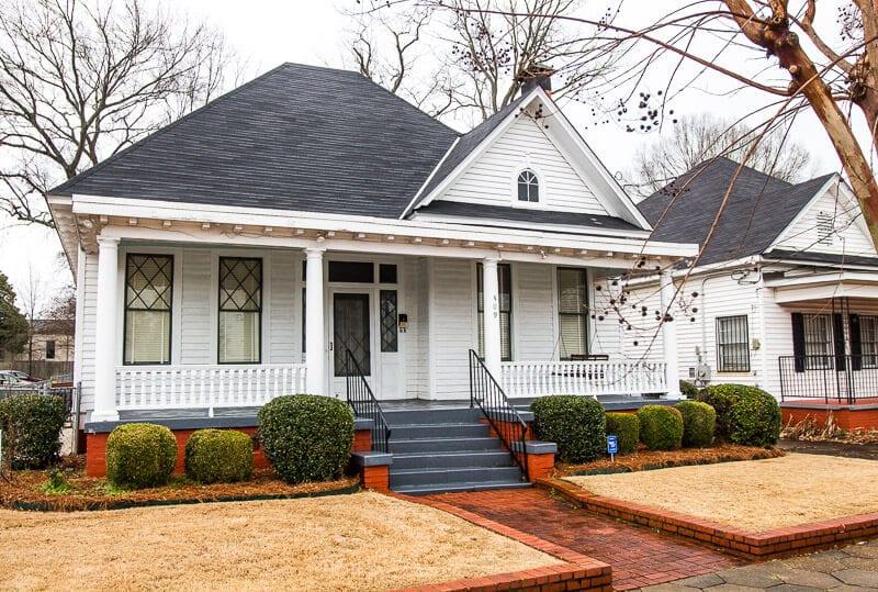 Martin Luther King house Montgomery Alabama Dexter Avenue Parsonage musuem