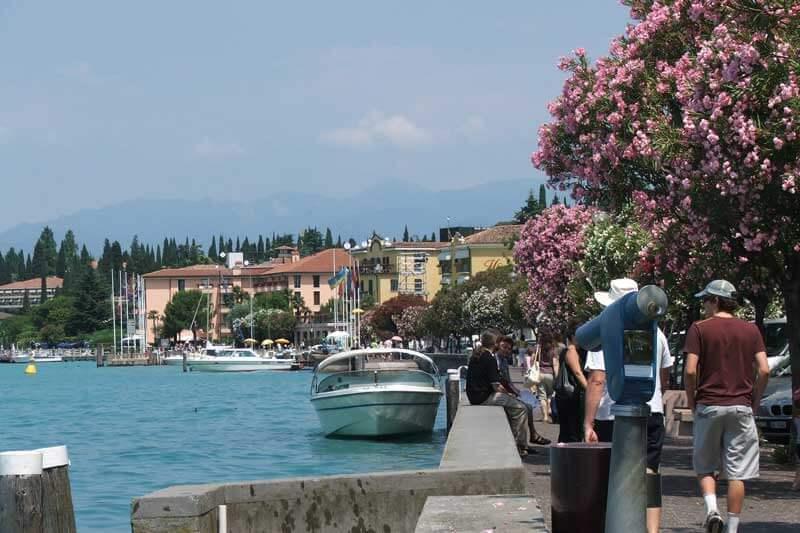 Walk along Sirmione Waterfront - things to do at Lake Garda, Italy