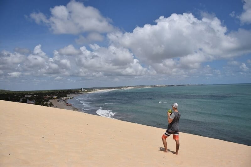 the Sand Dunes in Brazil