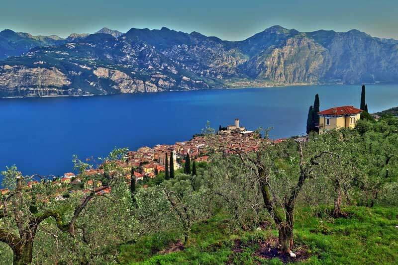 View from Monte Baldo - things to do at Lake Garda, Italy