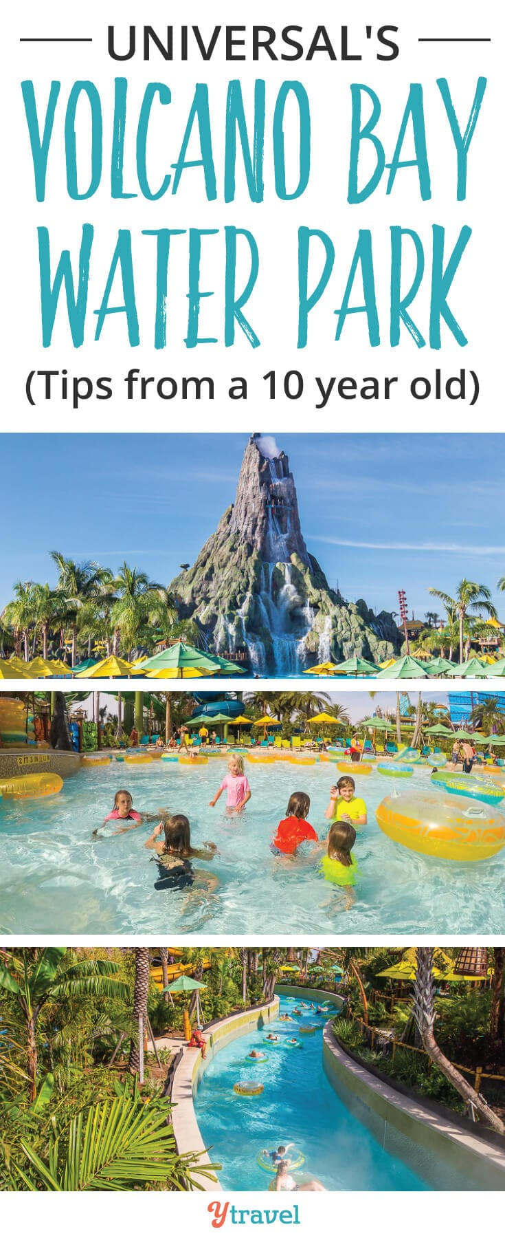 Volcano Bay Orlando. If you are planning a trip to Universal Orlando Resort, check out these tips for Universal's newest theme park, Volcano Bay in Orlando, Florida