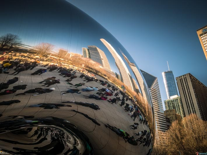 Cloud Gate Bean chicago
