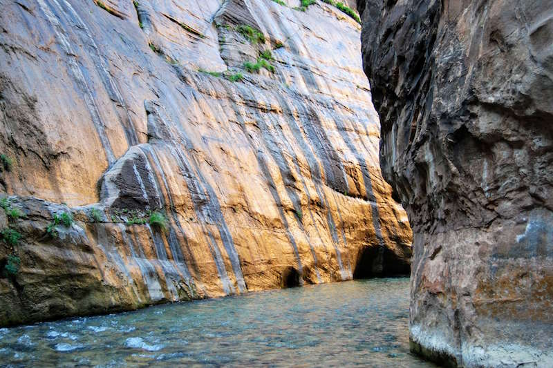 Mystery Falls - The Narrows day hike, Zion National Park