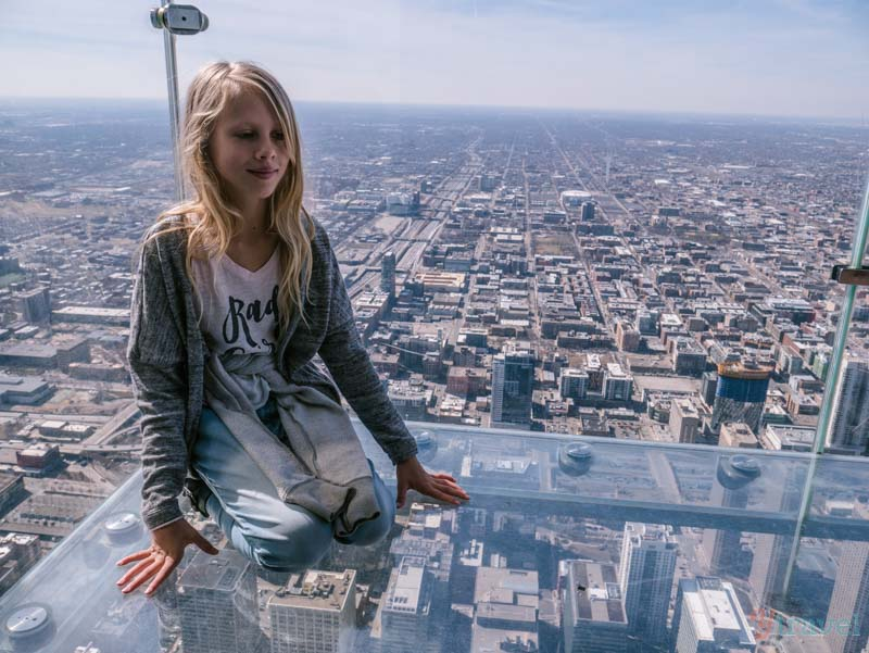 Skydeck The Ledge Willis Tower Chicago Illinois