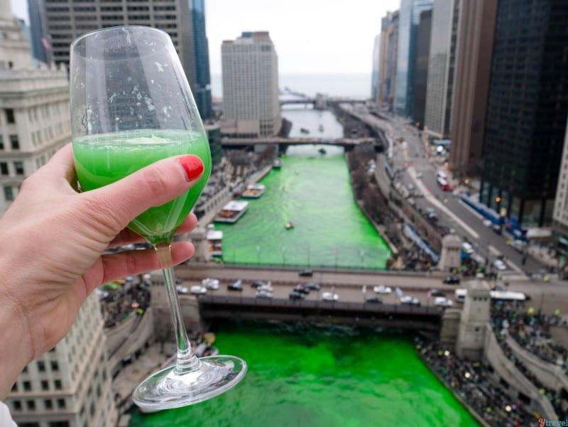 St PAtricks Day Chicago Green River (1)