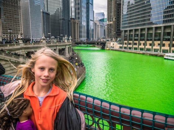 St Patrick's Day Green Chicago River (1)