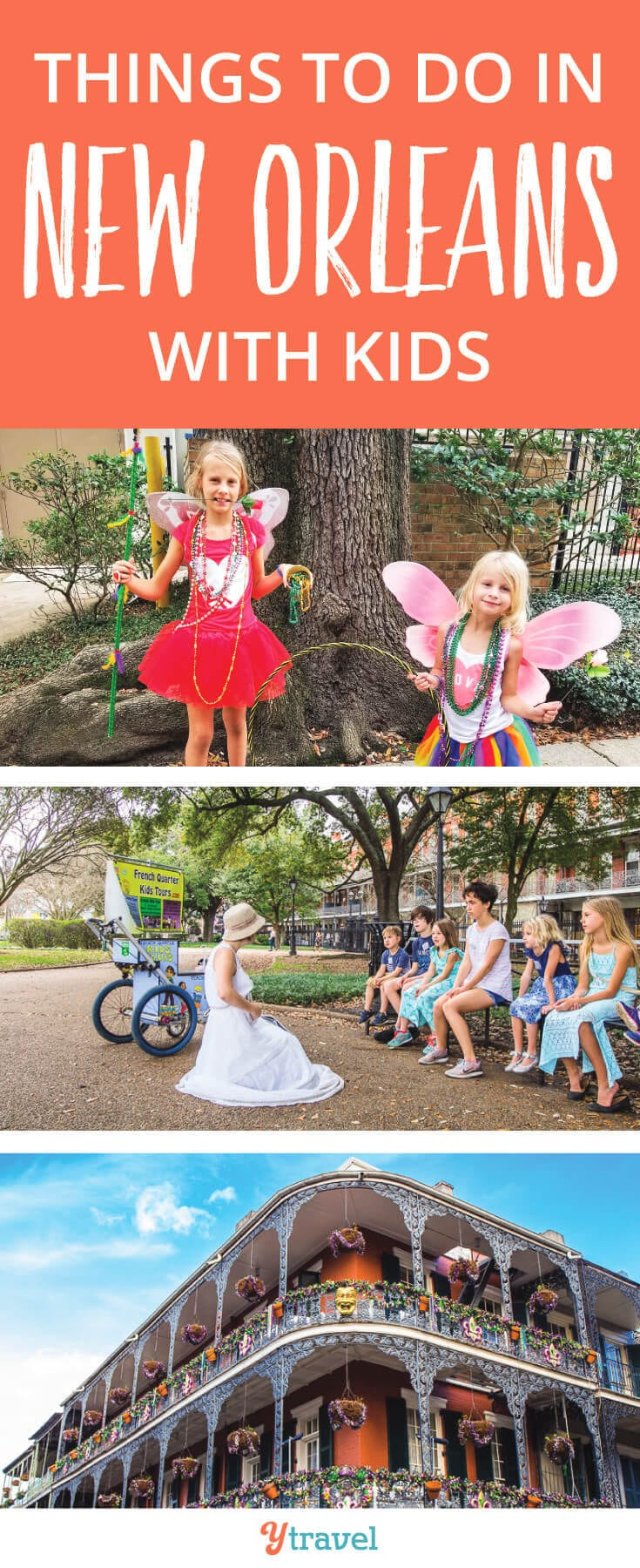 Best things to do in New Orleans with kids. If you are wondering if you should visit New Orleans with kids, check out these 11 activities (and a few extras) and you'll be cancelling the babysitter and bringing the whole family along to NOLA.