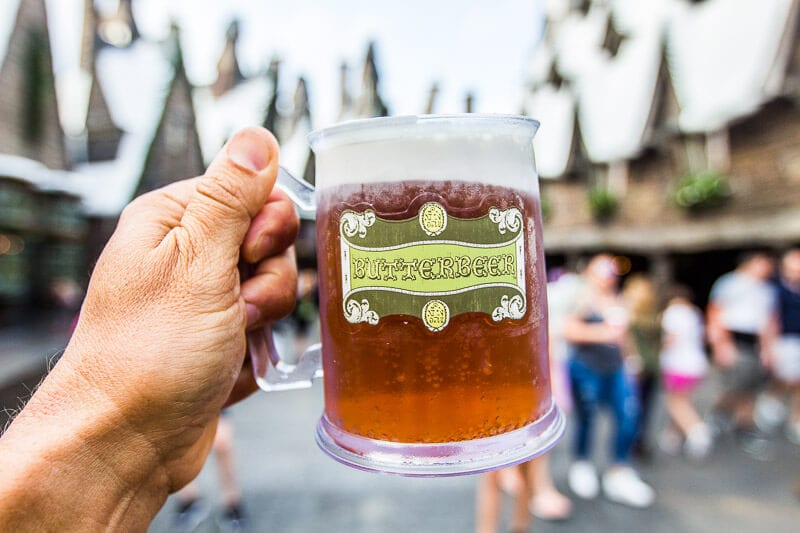 Butterbeer at The Wizarding World of Harry Potter in Universal Orlando Resort
