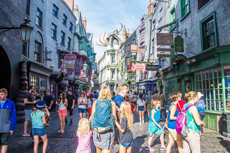 Diagon Alley, Le monde magique de Harry Potter, Universal Orlando