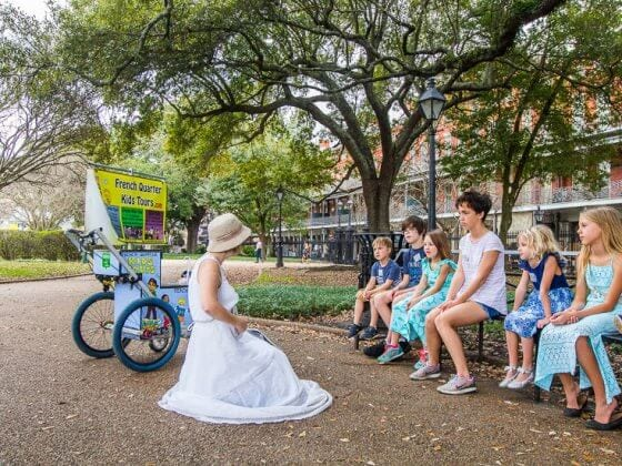French Quarter Kids tour