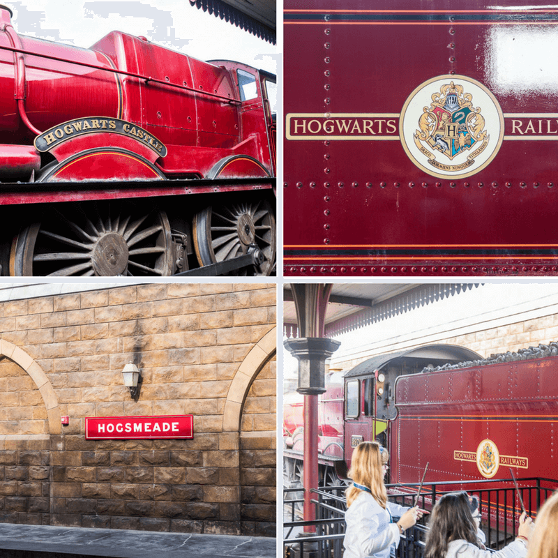 Hogwarts Express - one of the Harry Potter rides Universal Orlando