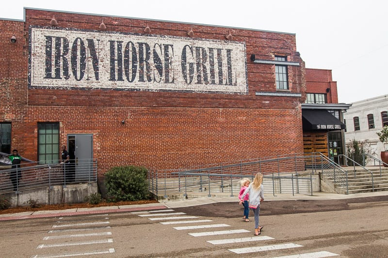 Iron Horse Grill, Jackson, Mississippi
