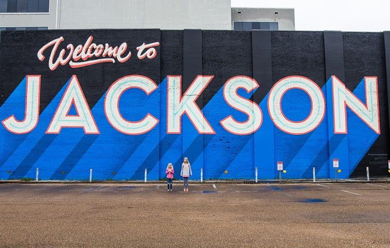Jackson, Mississippi mural
