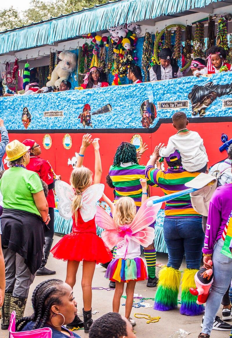 Défilé Krewe of Elks au Mardi Gras de la Nouvelle-Orléans