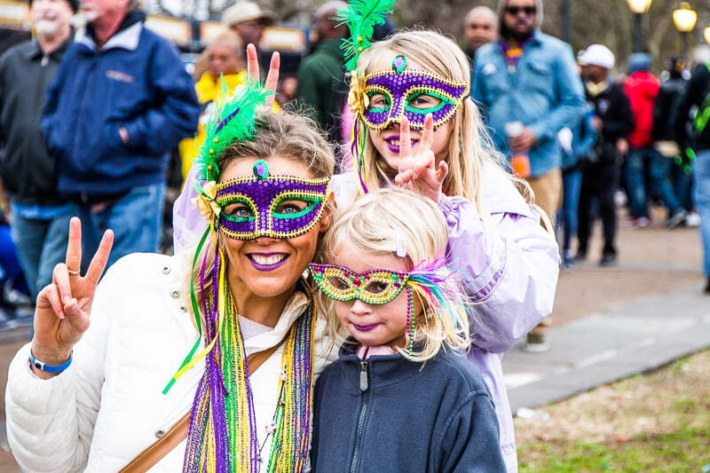 How to Enjoy the Mardi Gras Festival in New Orleans with Kids