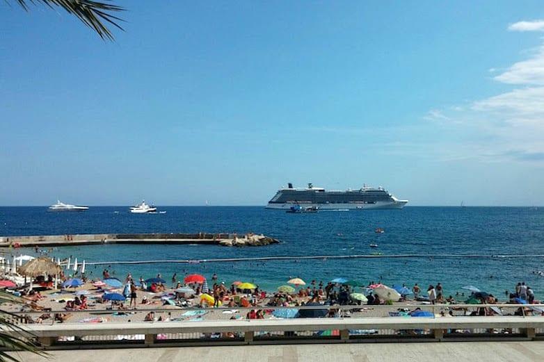 Larvotto Beach in Monaco