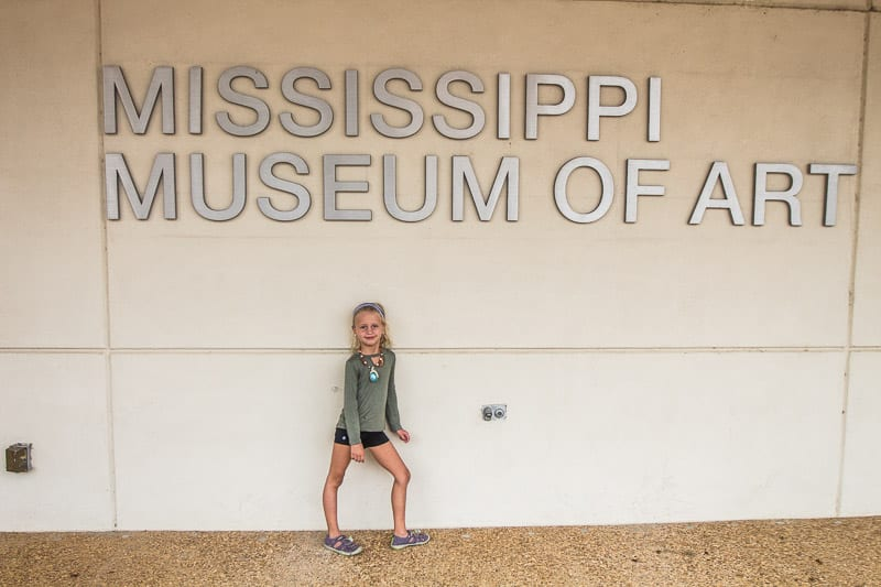 Mississippi Museum of Art, Jackson MS attractions