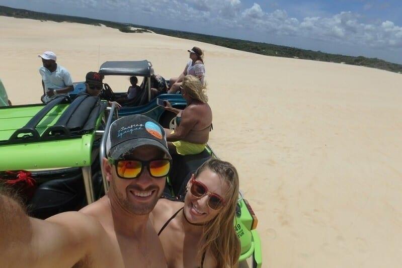 Natal sand dunes in Brazil