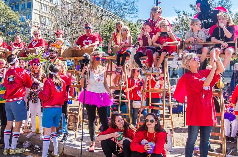 Profiter de Mardi Gras dans le Garden District