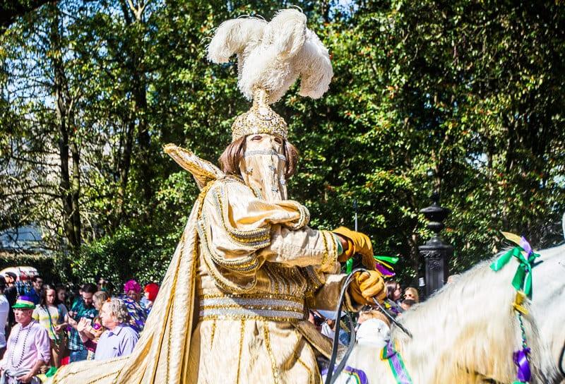 Rex Parade au Mardi Gras de la Nouvelle-Orléans