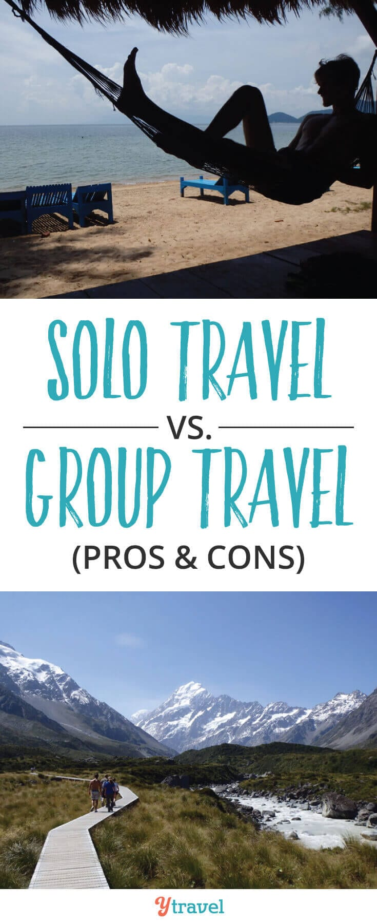 Solo Travel vs Group Travel? Should you travel solo or in as group? The decision to travel solo or in a group can be one that's particularly tough, especially for a first time traveler. Learn the PROS and CONS of each.