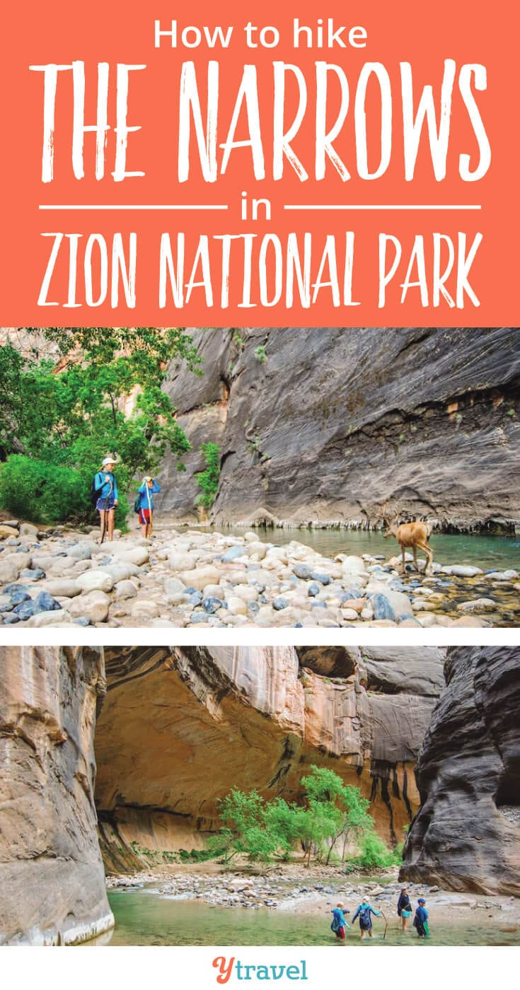 18 tips for hiking the Narrows in Zion National Park, with or without kids.