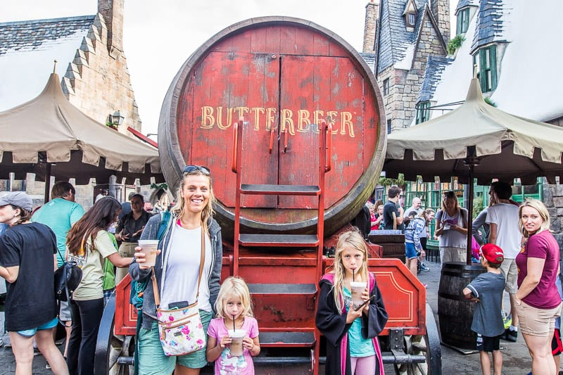 Universal Studios Orlando Tips - drink ALL the Butterbeer