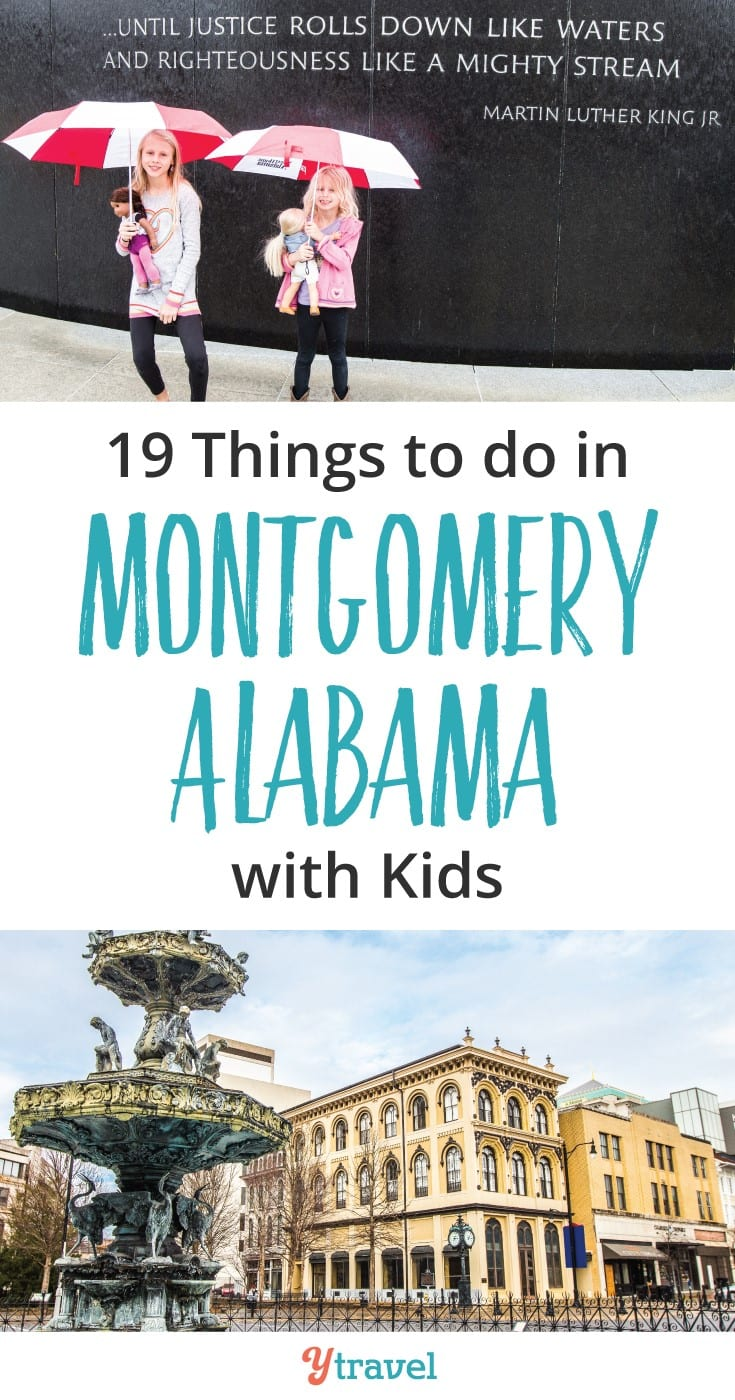 Things to do in Montgomery Alabama with kids. Check out these 19 Montgomery attractions - civil rights history, museums and tasty places to eat.