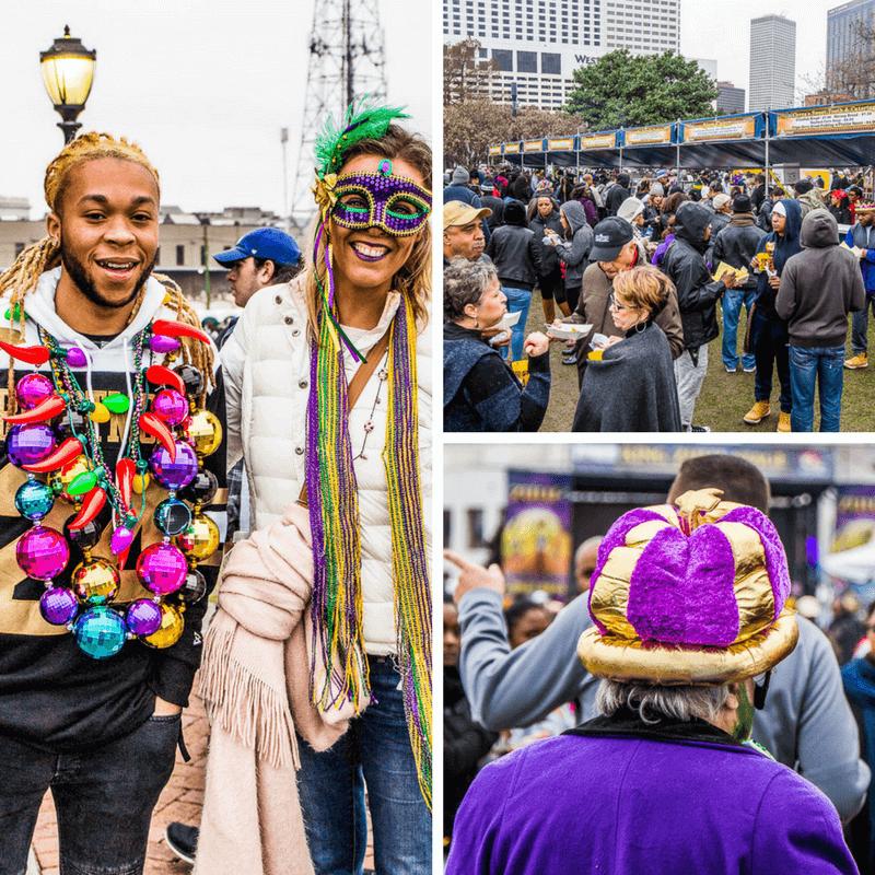Zulu Lundi festival in New Orleans