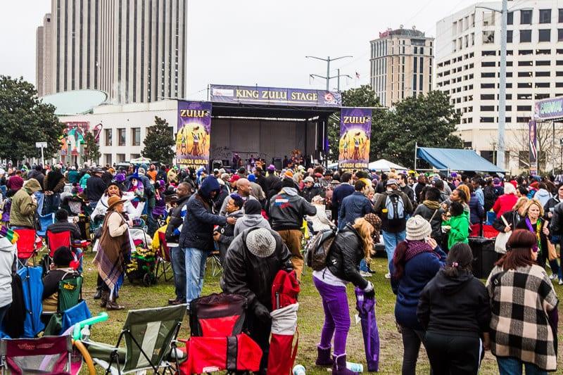 Zulu Lundi Gras Festival