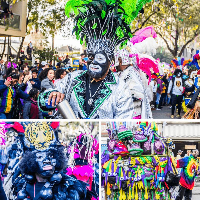 Défilé Zulu PZulu au Mardi Gras de la Nouvelle-Orléans